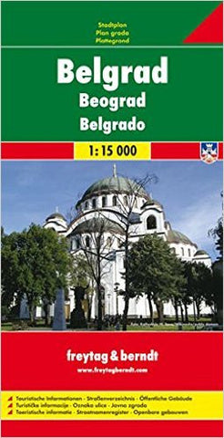 Belgrade F&B Travel Map