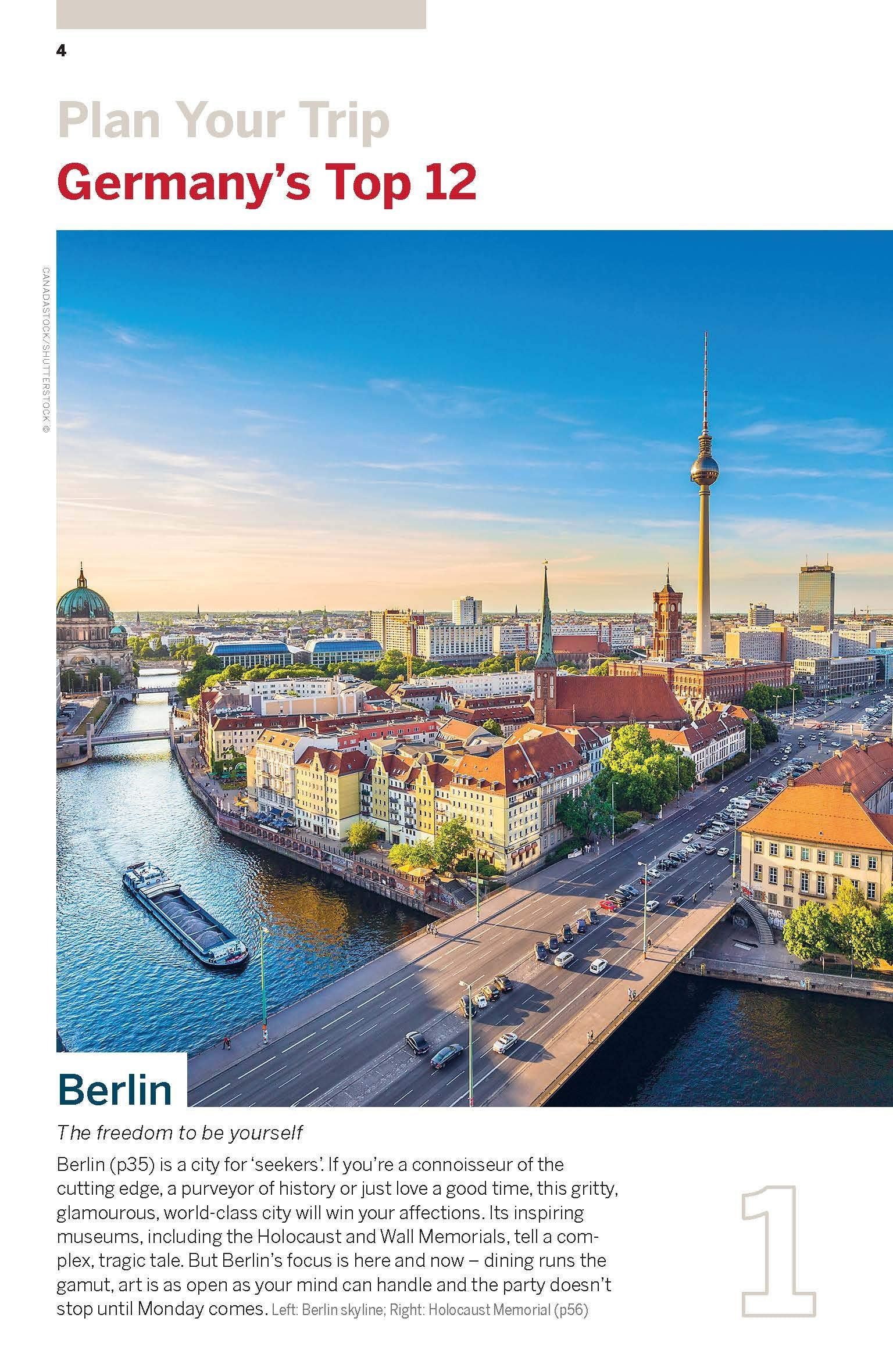 Best of Germany Lonely Planet 2e