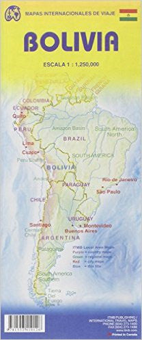 Bolivia ITM Travel Map