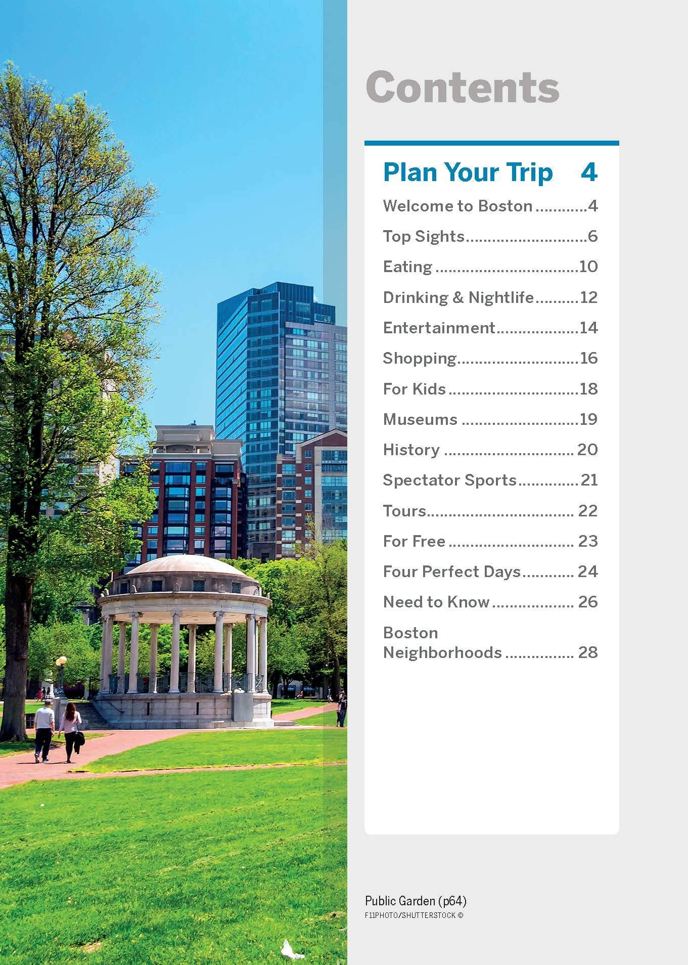 Boston Pocket Lonely Planet 4e