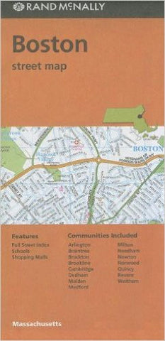Boston Rand McNally Map