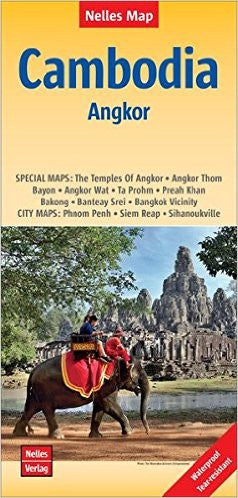 Cambodia / Angkor Nelles Travel Map