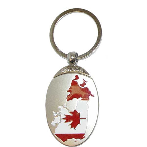 Map of Canada Keychain