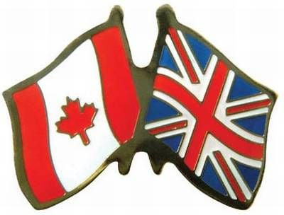 LAPEL PIN Friendship Pin Canada UK