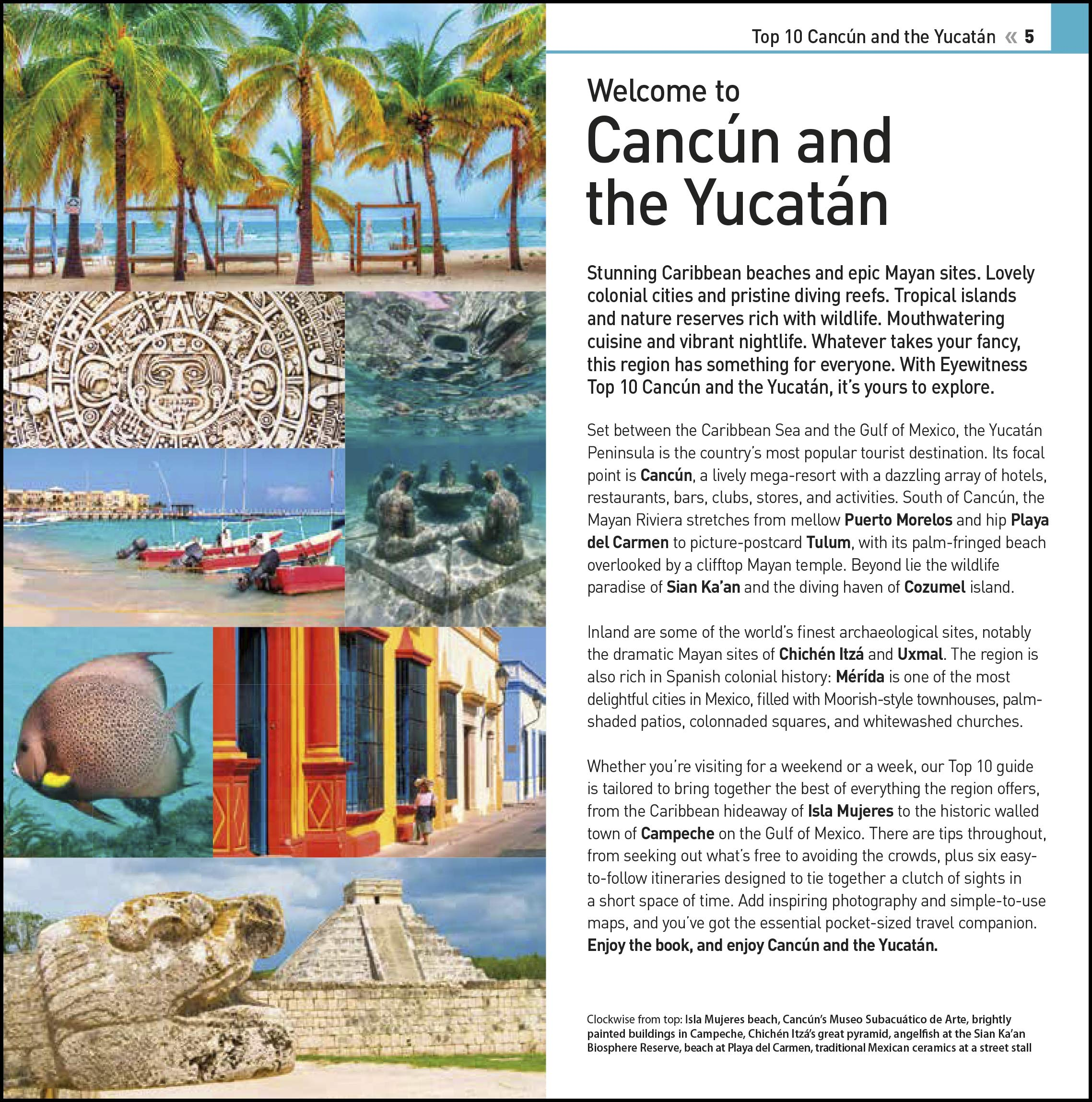 Eyewitness Cancun & the Yucatan Top 10