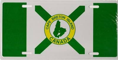 Cape Breton License Plate