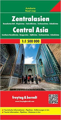 Central Asia F&B Travel Map