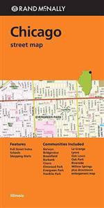 Chicago Rand McNally Street Map