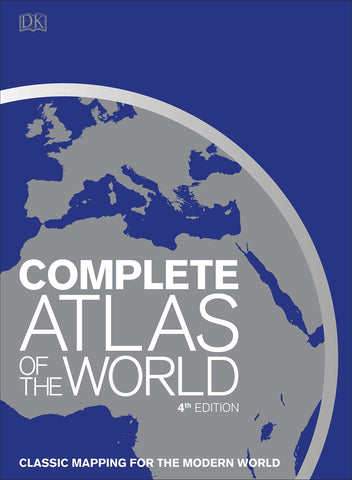 DK Complete Atlas of the World 4e
