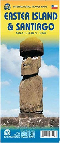 Easter Island & Santiago ITM Travel Map