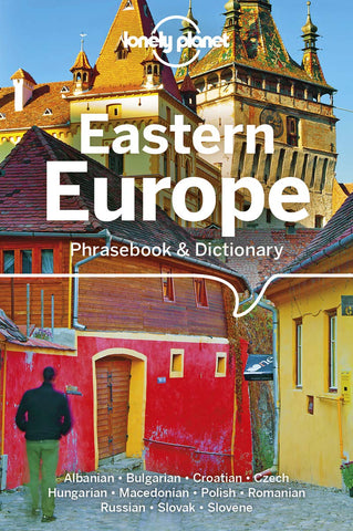 Eastern Europe Lonely Planet Phrase book 5e