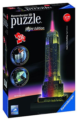 Empire State Building Night Edition 3D Puzzle 216 pc