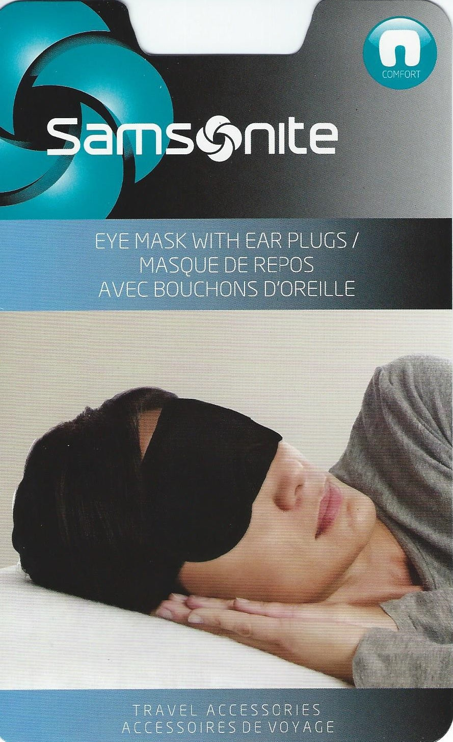 Eye Mask with Earplugs