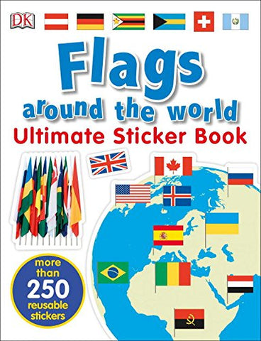 Flags Around the World Sticker Book