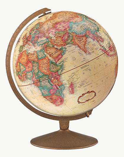 "Franklin 12"" Antique Style Globe"