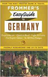 Frommer's Germany Easy Guide 1e