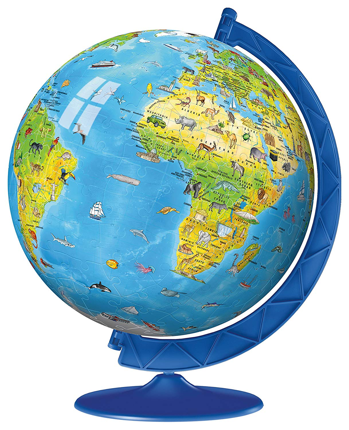 Children's Globe Puzzle Ball 180 pc