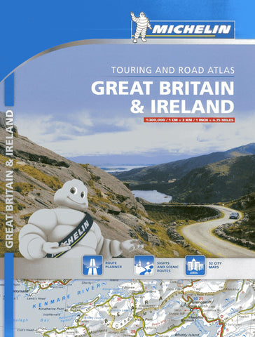Great Britain & Ireland Michelin Road Atlas