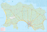 Jersey & Guernsey ITM Travel Map 2e