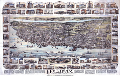The City of Halifax, Nova Scotia 1890