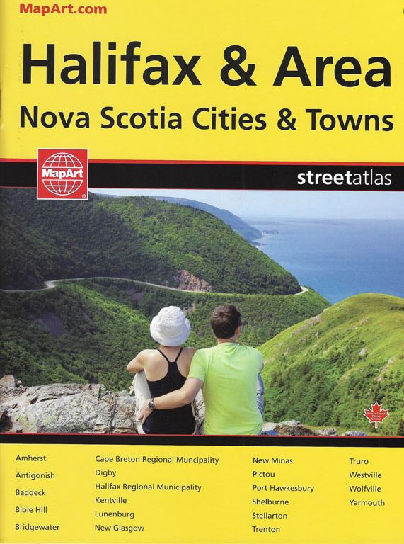 Halifax & Area Street Atlas CCC Maps