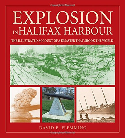 Explosion in Halifax Harbour by David Flemming