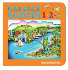 Halifax Harbour 1*2*3 Board book