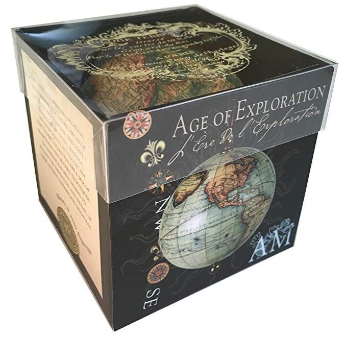 The Age of Exploration Antique Globe Ornament 3.25""