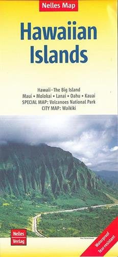 Hawaiian Islands Nelles Travel Map