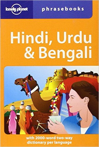 Hindi, Urdu & Bengali Lonely Planet Phrasebook 4e