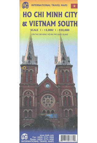 Ho Chi Minh & Vietnam South ITM Map 5e