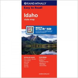 Idaho Rand McNally State Map
