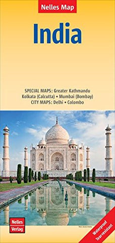 India Nelles Travel Map | Maps & More
