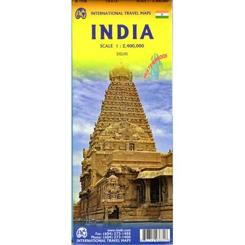 India ITM Travel Map 7e
