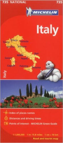 Italy Michelin Map 735
