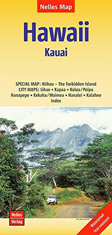 Hawaii: Kauai Nelles Travel Map