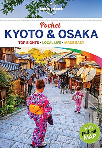 Kyoto & Osaka Pocket Lonely Planet 2e