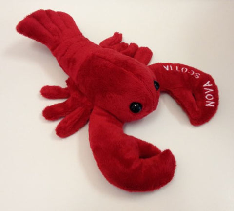 "Plush Lobster 12"" - Nova Scotia"