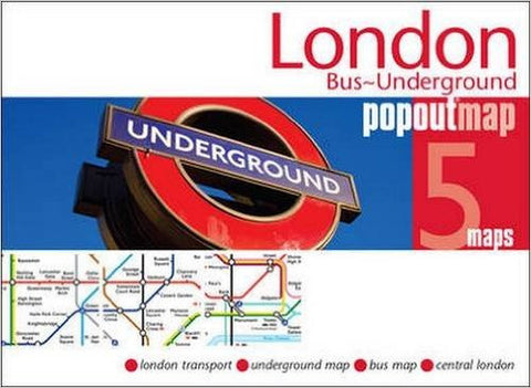 London Bus ~ Underground Popout Map
