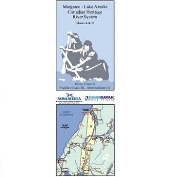 Margaree - Lake Ainslie River System Canoe/Kayak Map