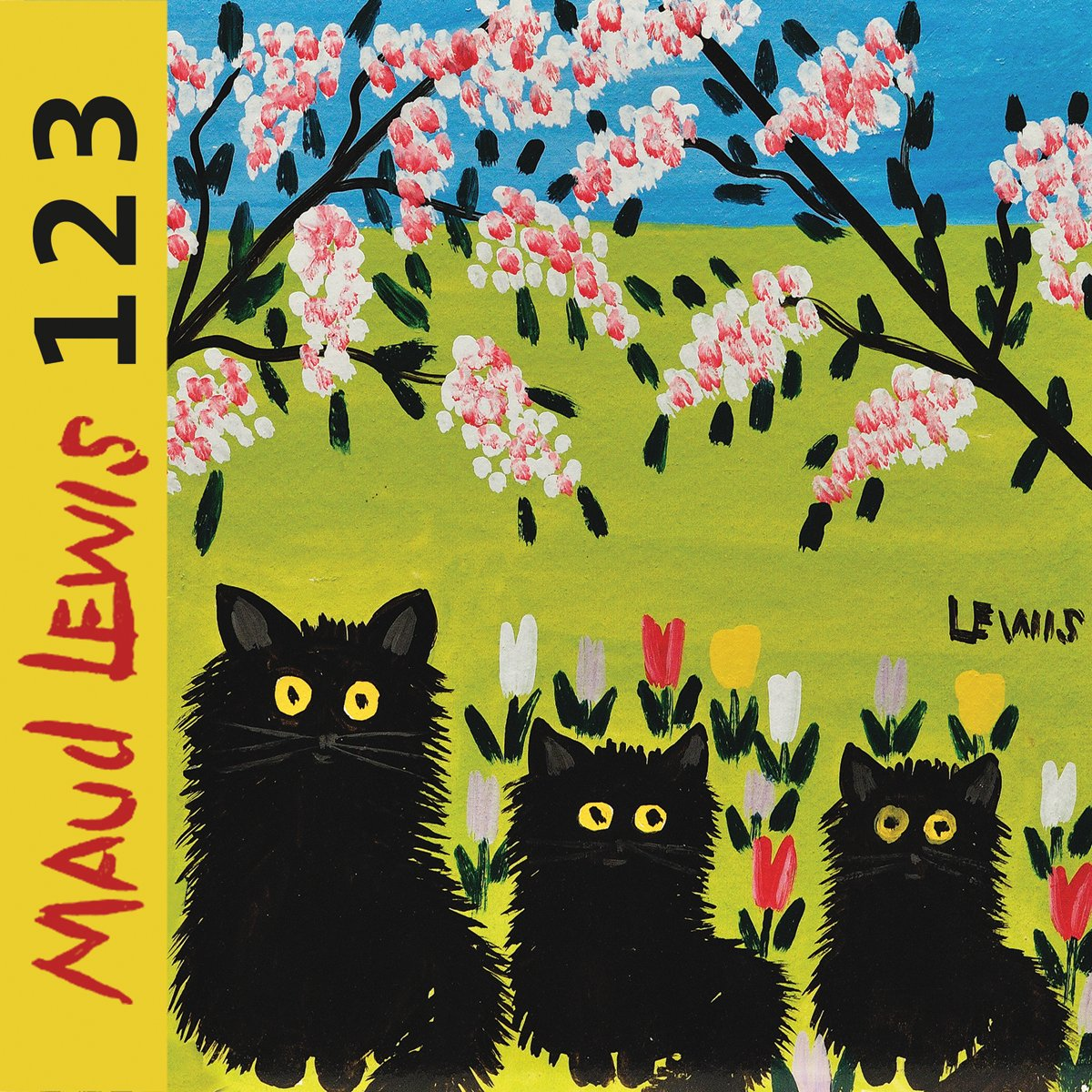 Maud Lewis 1*2*3 Board book