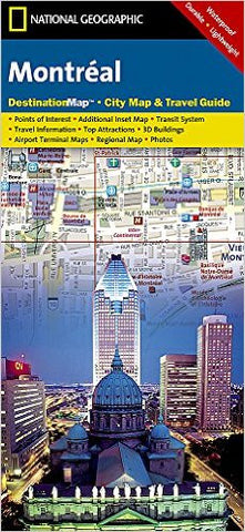 Montreal Destination City Map