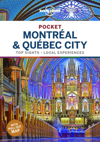 Montreal & Quebec City Pocket Lonely Planet 1e