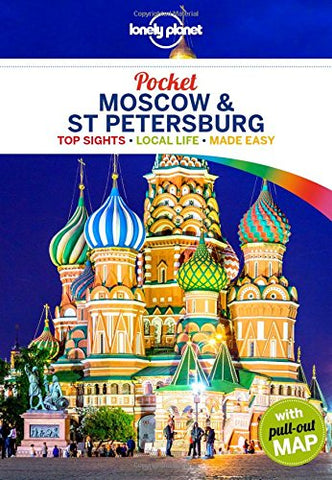 Moscow & St Petersburg Pocket Lonely Planet 1e