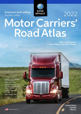 United States/ Canada/ Mexico Motor Carriers' Road Atlas 2019