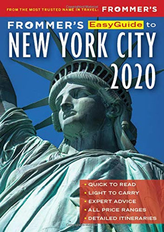 Frommer's Easy Guide to New York City 2020
