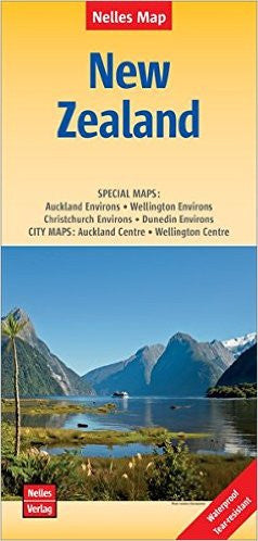 New Zealand Nelles Travel Map