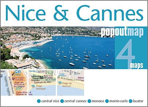 Nice & Cannes Popout Map