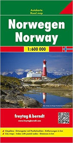 Norway F&B Travel Map