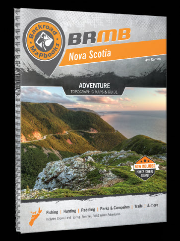 Nova Scotia Backroad Mapbook 4e